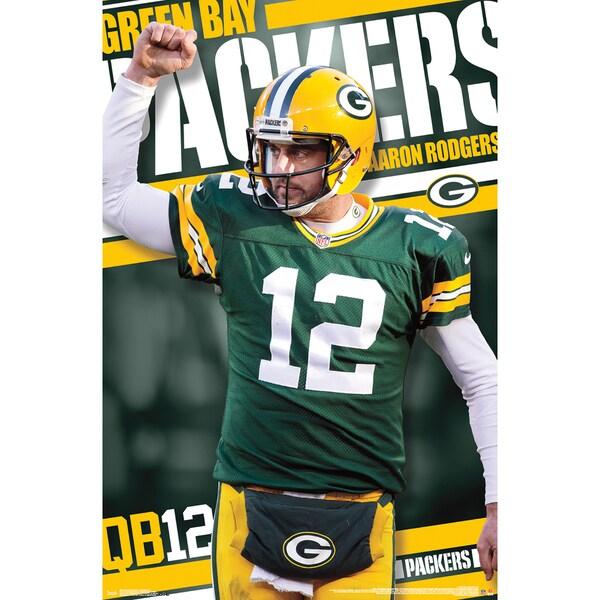 Aaron Rogers Poster 22inX34in