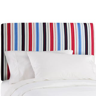 Made to Order Stripe Upholstered Headboard