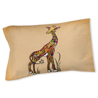 Thumbprintz Giraffe Sham