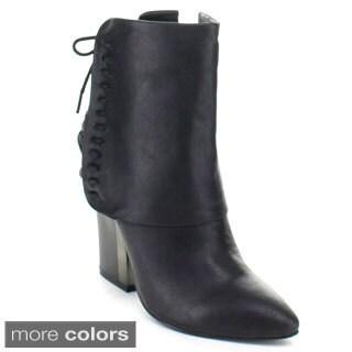 Bumper Women's 'Melody-01' Side Zipper Ankle Boots