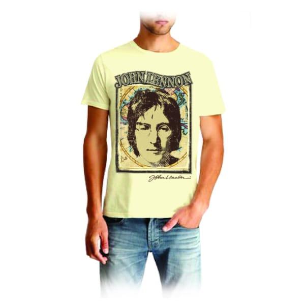 John Lennon Men's Heavy Metal T-shirt