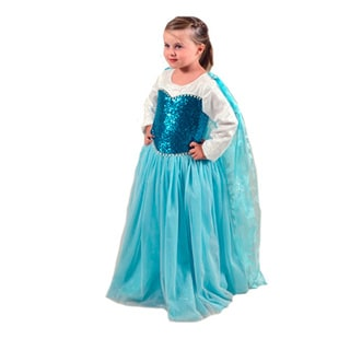 Sweetie Pie Girls Blue Princess Dress