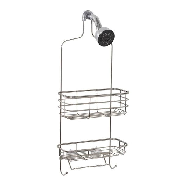 Zenith Extra Large Stainless Steel Shower Head Caddy 14226371