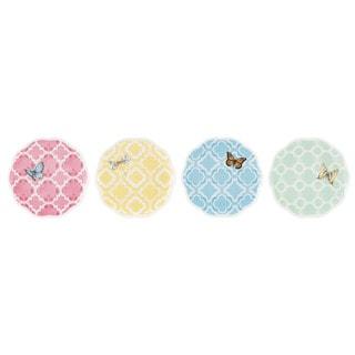 Lenox Butterfly Meadow Trellis 4-piece Dessert Plate Set