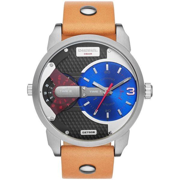 Diesel Men's DZ7308 Mini Daddy Nude Leather Watch