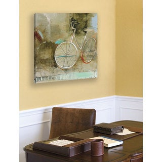 Portfolio 'Cozy Bike' Large Printed Canvas Wall Art