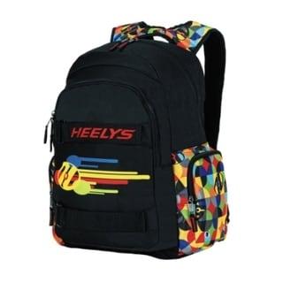 Heely's Thrasher Multi-color Geometric Backpack