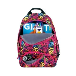 Heely's Bandit Multi-color Swirl Backpack