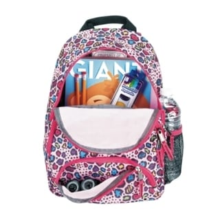 Heely's Bandit Multi-color Cheetah Backpack