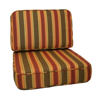 Trijaya Living Sunbrella Dimone Sequoia with Welting Universal Club Chair Cushion