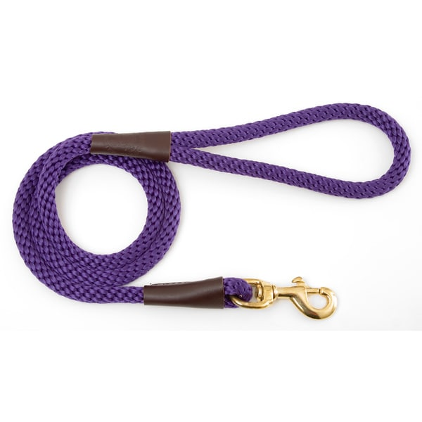 Mendota Purple Snap Leash