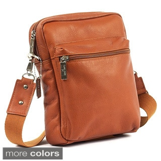 Claire Chase Leather Crossbody Bag