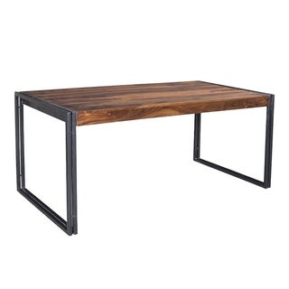 Timbergirl Sheesham Wood Dining Table (India)