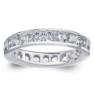 Amore Platinum 2ct TDW Diamond Wedding Ring (G-H, SI1-SI2)