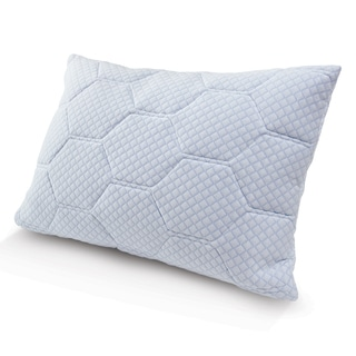 Tempure Rest Cooling Gel Reversible Memory Foam Loft Pillow