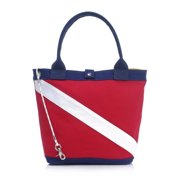 Flote Diver Down Canvas Tote Bag
