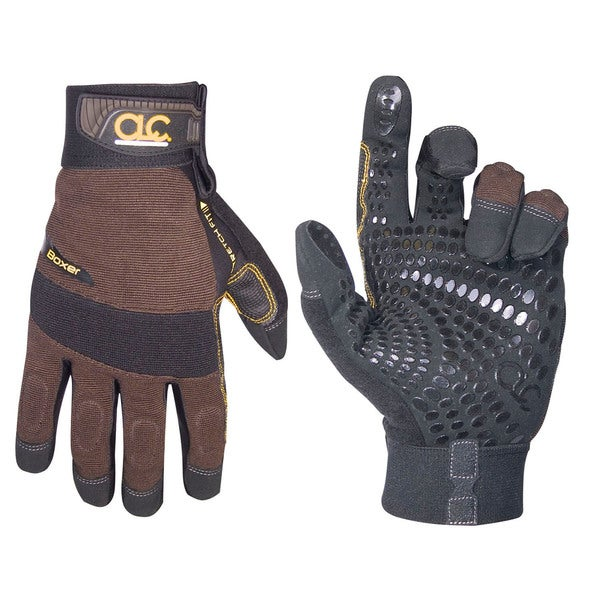 Boxer Large Brown/ Black Gloves