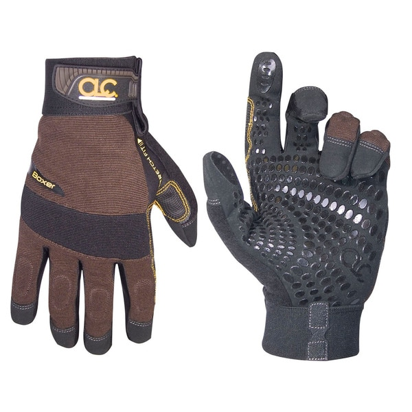 Boxer Medium Brown/ Black Gloves