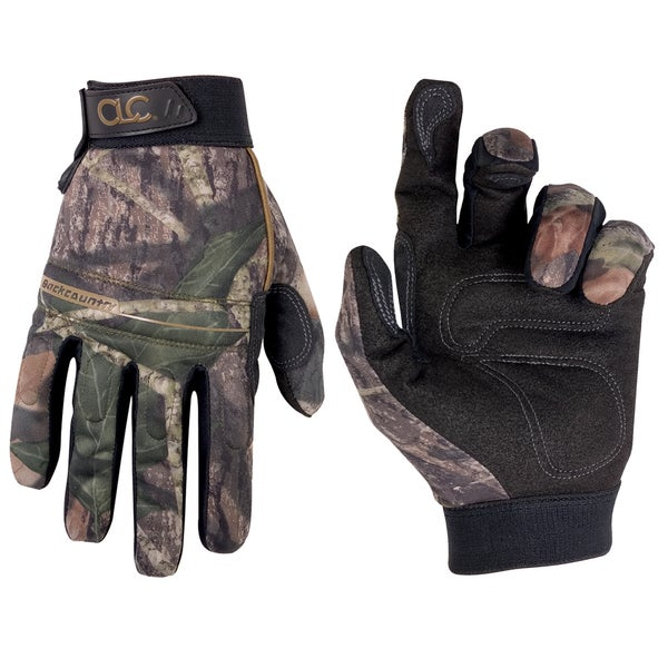 Backcountry Medium Mossy Oak Camo Gloves