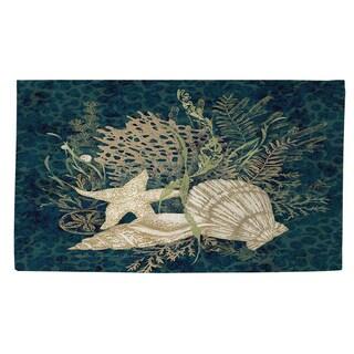 Thumbprintz Sea Shells Vignette Rug (2' x 3')
