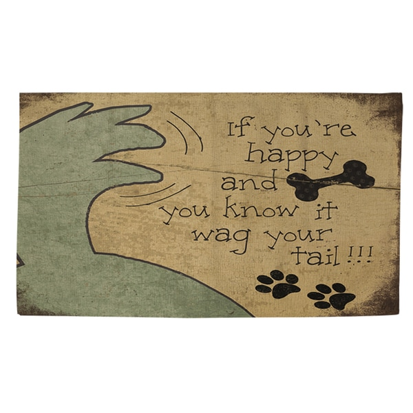 Thumbprintz Wag Your Tail Rug (2' x 3')