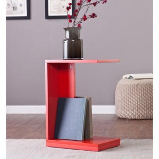 Holly and Martin Red-Orange Bocks C Table