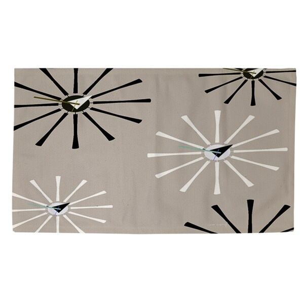 Thumbprintz Fifties Patterns IV Rug (2' x 3')
