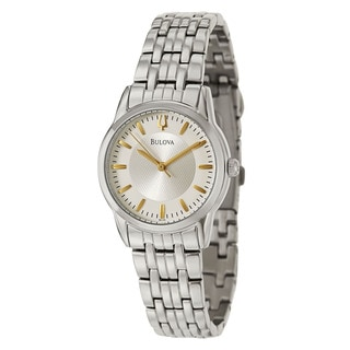 Bulova Women's 96L192 'Bracelet' Stainless Steel Quartz Watch