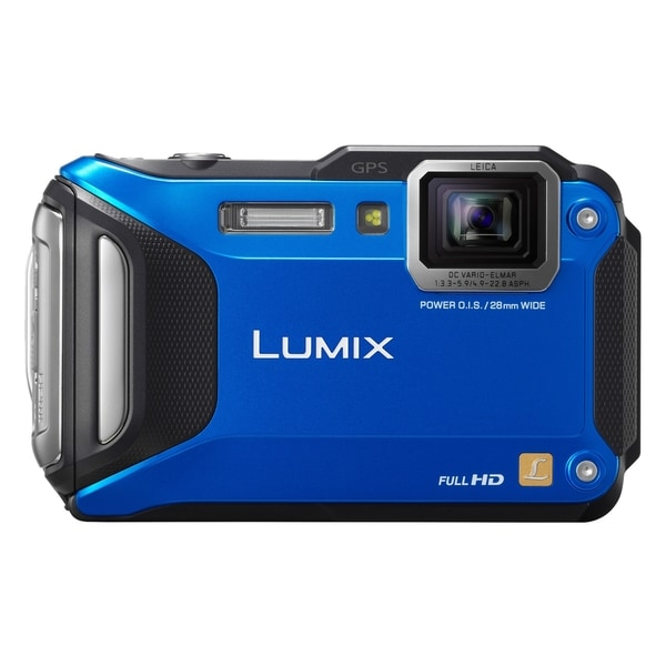 Panasonic Lumix DMC-FT5 16.1 Megapixel Compact Camera - Blue