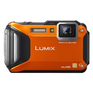 Panasonic Lumix DMC-FT5 16.1 Megapixel Compact Camera - Orange