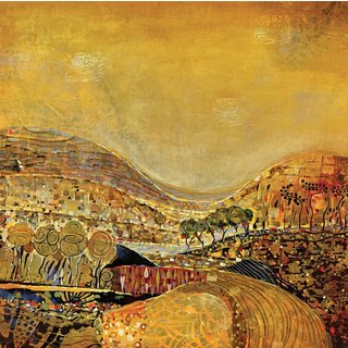 Portfolio Canvas Decor Large Printed 'Ekitai' Framed Gallery-wrapped Canvas Art