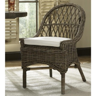 Kubu Cross Weave Dining Chair (Set of 2)