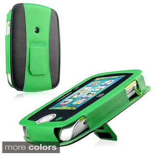 INSTEN Dual Color Leather Phone Case Cover Protector with Stand For Leappad 3
