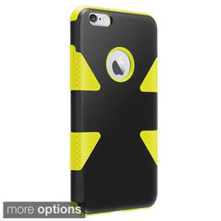 INSTEN Plain Colourful Dynamic Slim Hybrid Phone Cover Case for iPhone 6 Plus