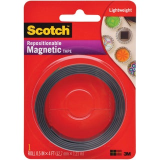 Scotch (TM) Magnetic Tape .5IN X 4FT