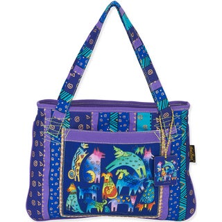 "Medium Tote 15""X11""-Mythical Dogs"