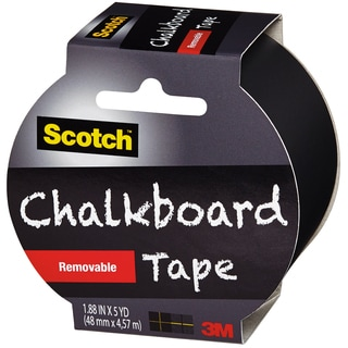 "Scotch (TM) Chalkboard Tape 1.88""X5yd-Black"