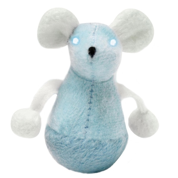 Play 'n Squeak Twinkle Wobble Mouse Cat Toy