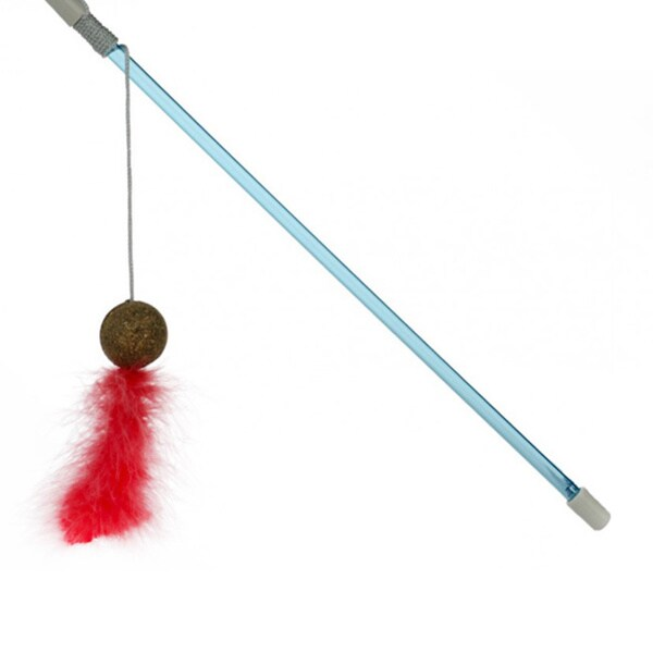 OurPets Corknip Sheaky Snaky Wand Cat Toy