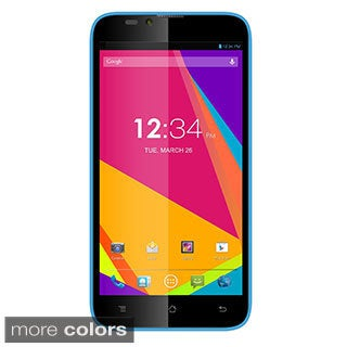 BLU Dash 5.5 D470u Unlocked GSM 4G Dual-SIM Quad-Core Android Cell Phone