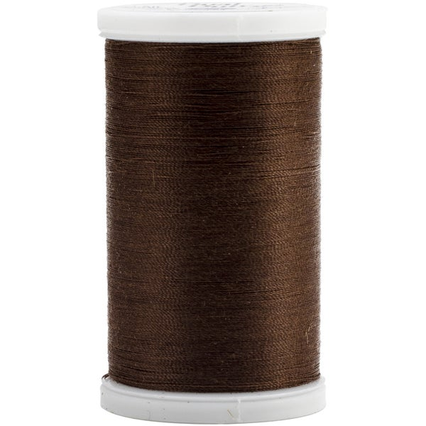Dual Duty XP General Purpose Thread 500yd-Dark Brown