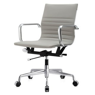 Dieci Office Chair in Grey