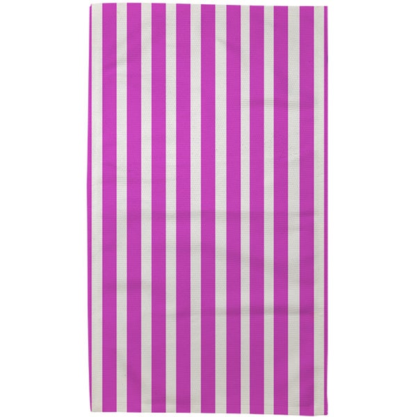 Thumbprintz Bright Stripes Pink Rug (4' x 6')