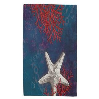 Thumbprintz Seastar Bay Starfish Rug (4' x 6')