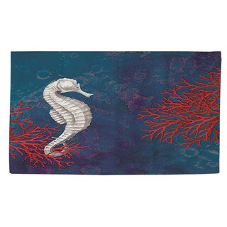 Thumbprintz Seastar Bay Seahorse Rug (4' x 6')