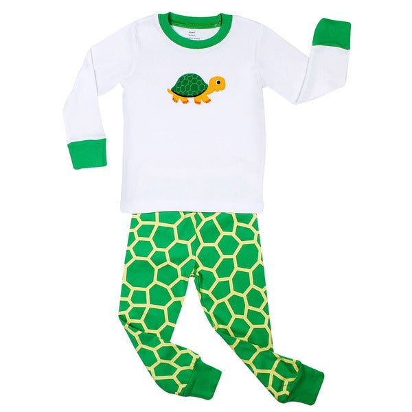 Elowel Turtle 2 Piece Pajama Set