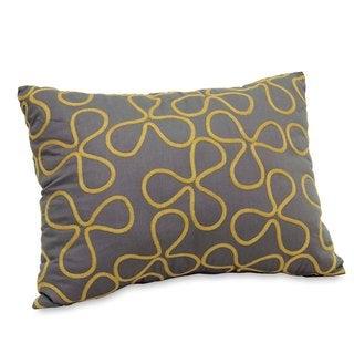 Serengeti 12x16 Charcoal Throw Pillow