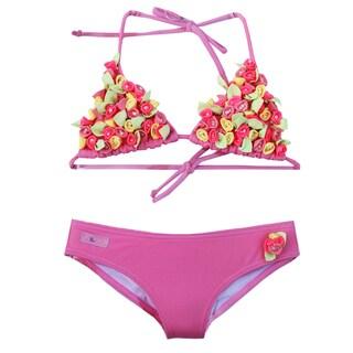 Azul Swimwear 'Bippity Boppity Boo' Pink Triangle Bikini