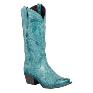 Lane Boots Women's 'Lovesick' Blue Cowboy Boots