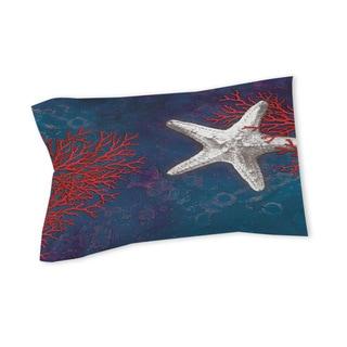 Thumbprintz Seastar Bay Starfish Sham